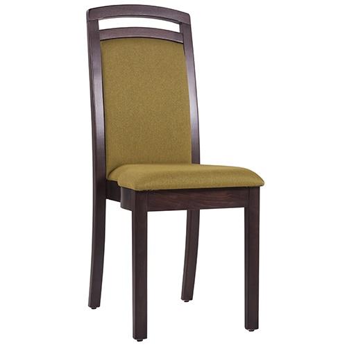 Dřevěné židle stohovatelné čalouněné do restaurace