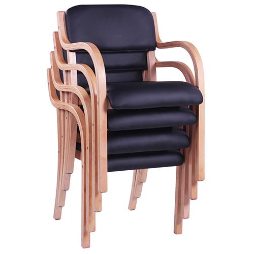 Dřevěné židle do návštěvních místností