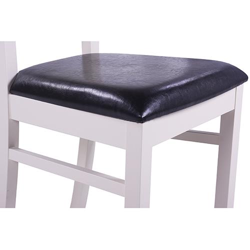 Dřevěné židle do restaurace čalouněný sedák