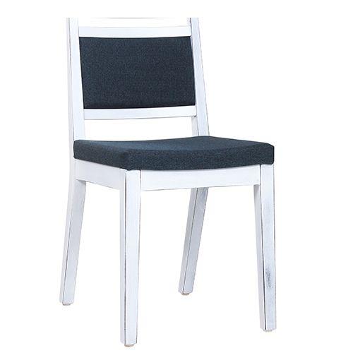 Dřevěné židle LEANDRO V Vintage Look bílá