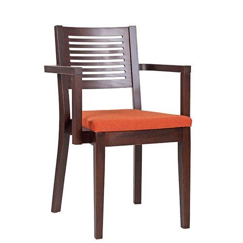 Dřevěné židle do restaurace možnost stohování