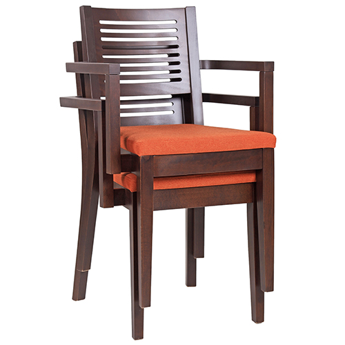 Dřevěné židle možnost stohování