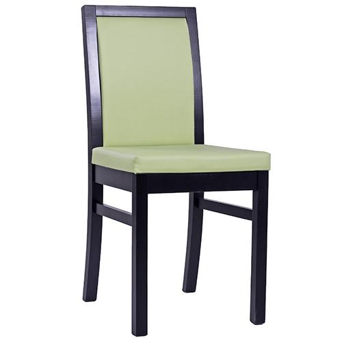 Dřevěné židle s čalouněním do restaurace