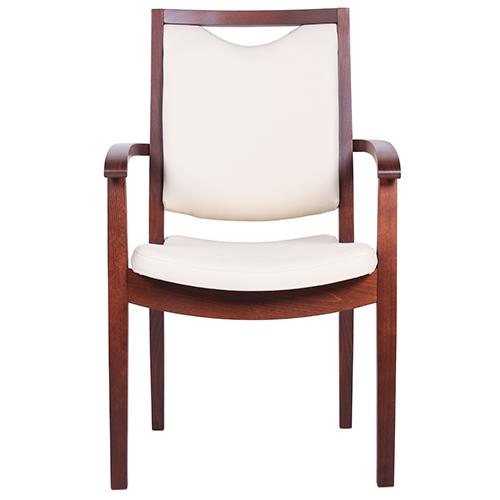 Drevené stoličky do čakárne