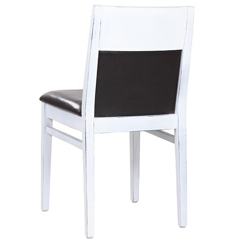 Dřevěné židle VINTAGE čalouněné