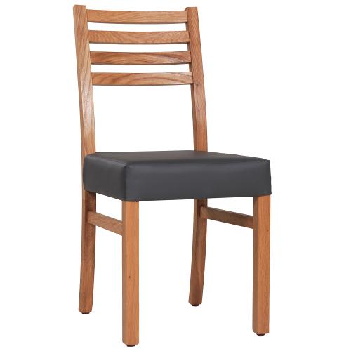 Dubové židle čalouněné