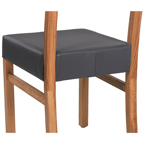 Čalouněné židle dub masiv