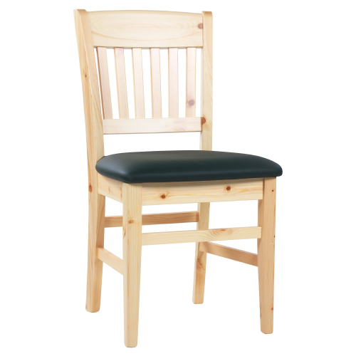 Dřevěné čalouněné židle borovice masiv