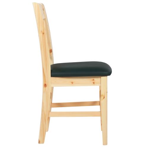Masivní borovicové židle