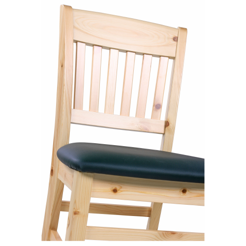 Čalouněné židle masivní borovice