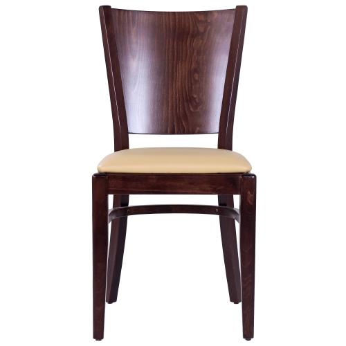 Drevené stoličky čalúnený sedák