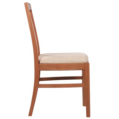 Drevené čalúněné stoličky pre reštauracie