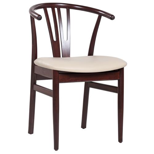 Reštauračné stoličky čalúnený sedák
