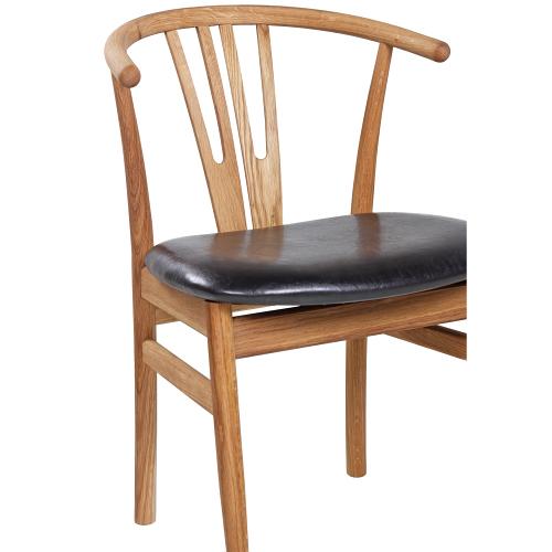 Dubové židle do restaurace