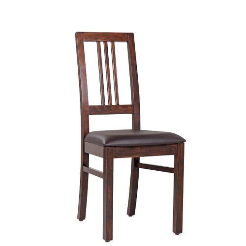 Dřevěné židle BOB 3 čalouněný sedák