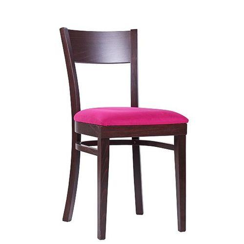 Dřevěné židle čalouněný sedák do restaurace