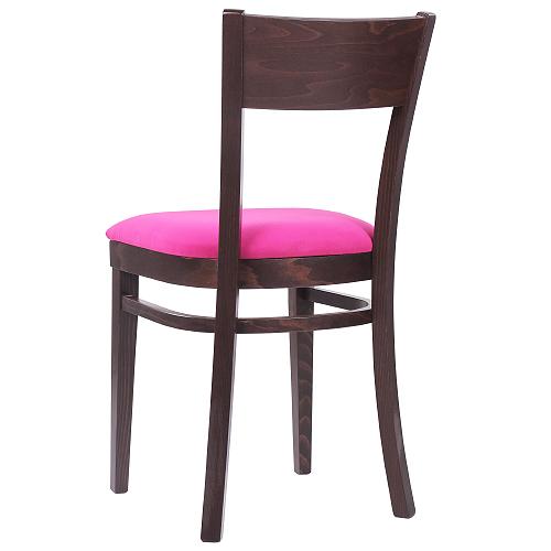 Drevené stoličky čalúnený sedák do reštaurácie