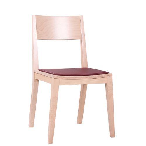 Židle FIN SP pro restaurace a bistra čalouněný sedák