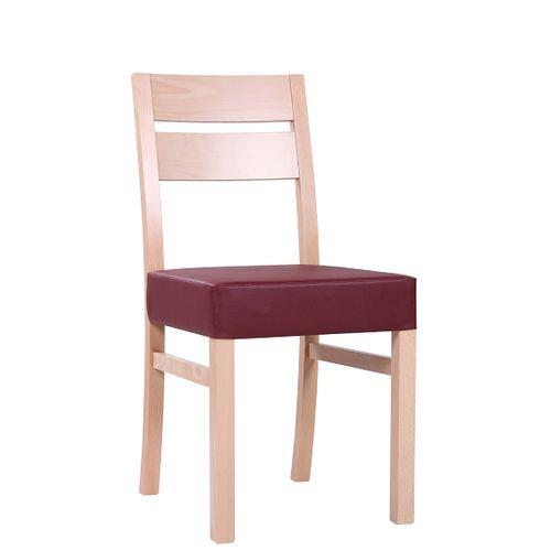 Dřevěná židle čalouněná SCARLA