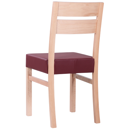 Dřevěné židle pro restaurace design