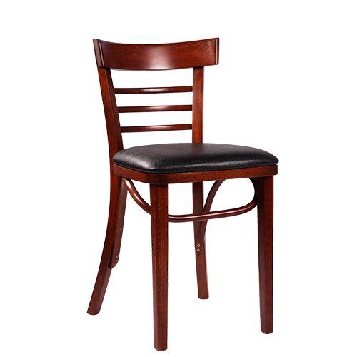 Dřevěná čalouněná židle MAROLA P