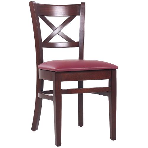 Stoličky do reštaurácie čalúnený sedák