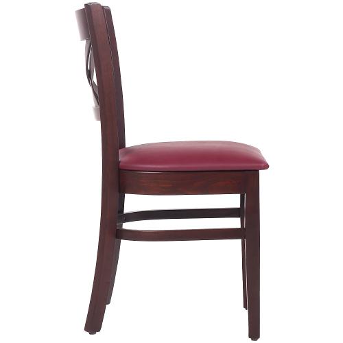 Židle do restaurace čalouněný sedák