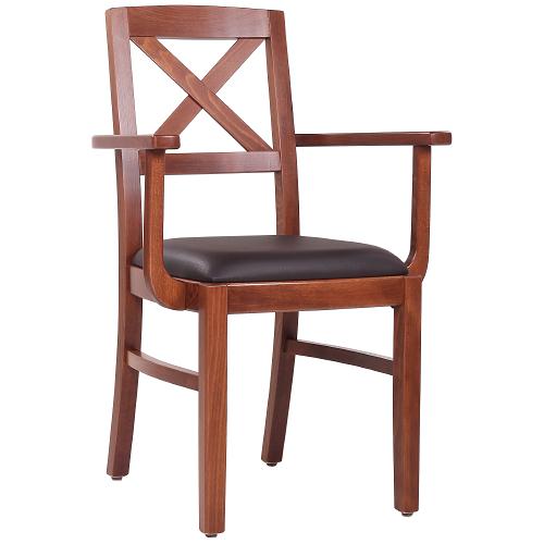 Drevěné stoličky do reštaurácie