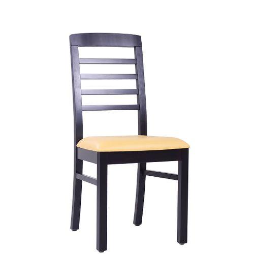 Dřevěné židle do restaurace BIANCA P XL s čalouněním