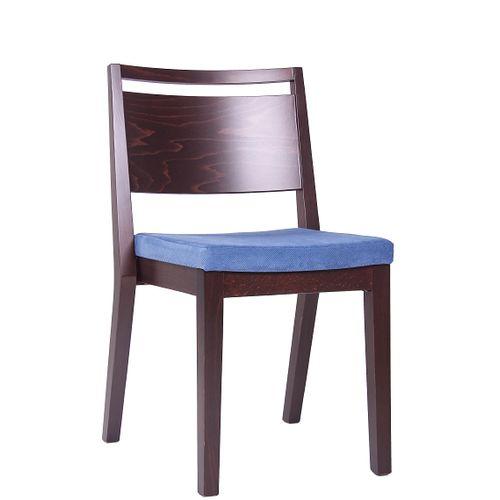 Dřevěná židle čalouněná LUCAS P ST