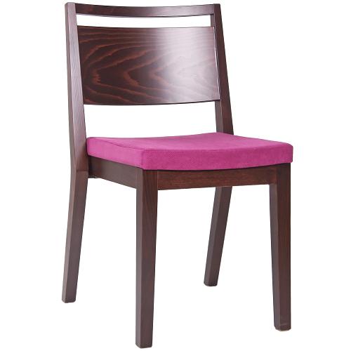 Dřevěné židle do restaurace stohování