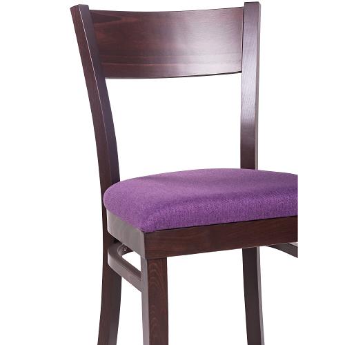 Drevené čalúněné stoličky