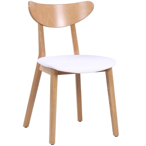 Bistro stolička drevená