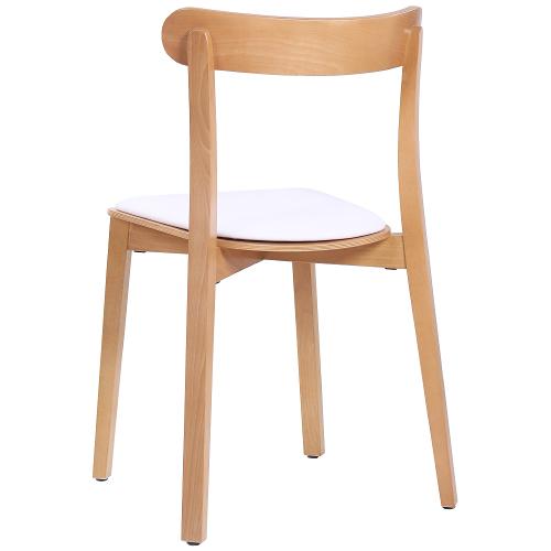 Drevené bistro stoličky