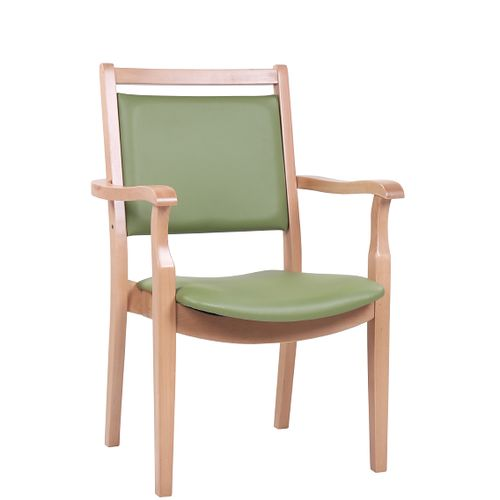 Židle pro seniory RENATUS masivní buk