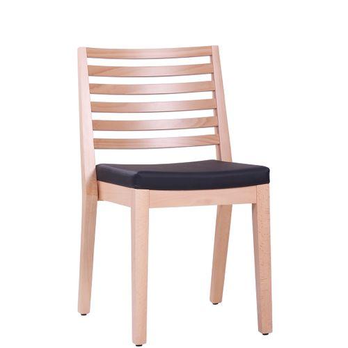 Dřevěná židle čalouněná LUISA P ST