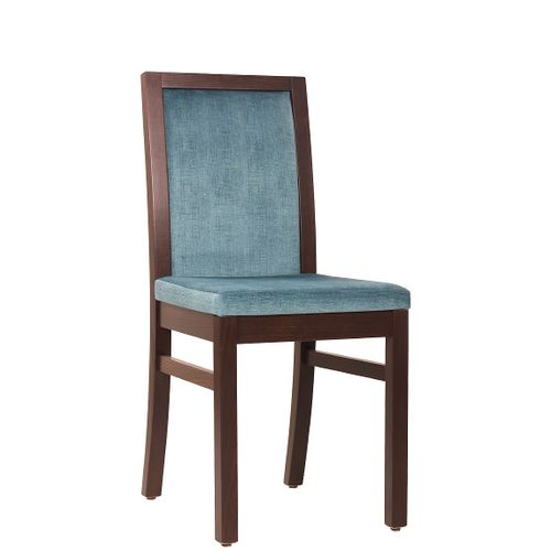 Dřevěná židle čalouněná DANA