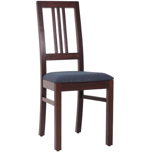 Dřevné židle čalouněný sedák