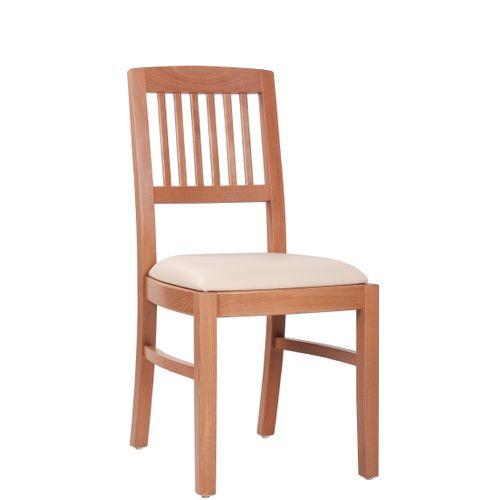 Dřevěná židle čalouněná ALEXIS