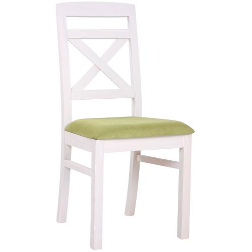 Borovicové stoličky ROBBIE 2P čalúnený sedák