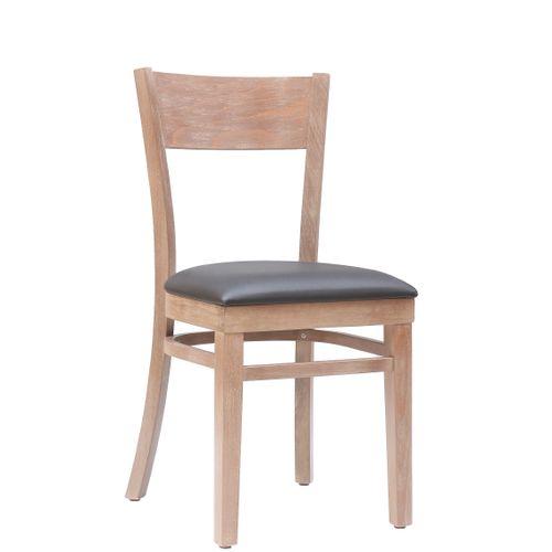 Dřevěné židle do restaurace KLASIK 98 P čalouněný sedák