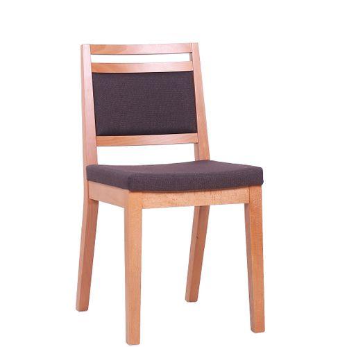 Dřevěná židle čalouněná LEANDRO P
