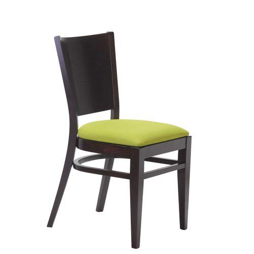 Dřevěné čalouněné židle pro restaurace