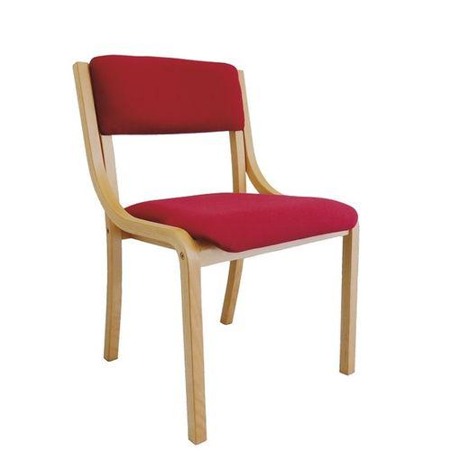 Dřevěné židle LENA s možností stohování
