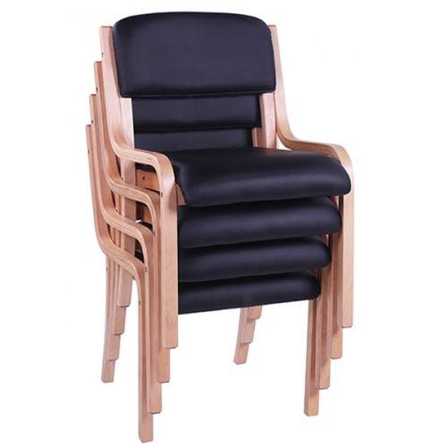 Dřevěné židle JANA pro konference s možností stohování