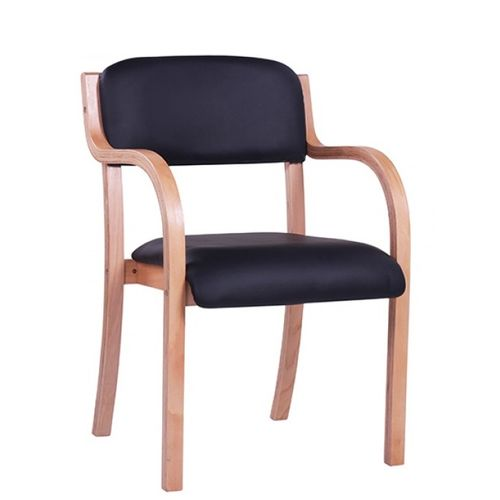 Dřevěné židle do návštěvních místností stohovatelné