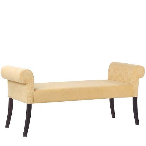 Čalouněné lavice CLEA LB do interiéru, lobby nebo hotelových pokojů