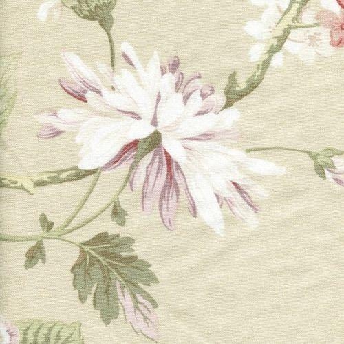 Potahová látka s květy