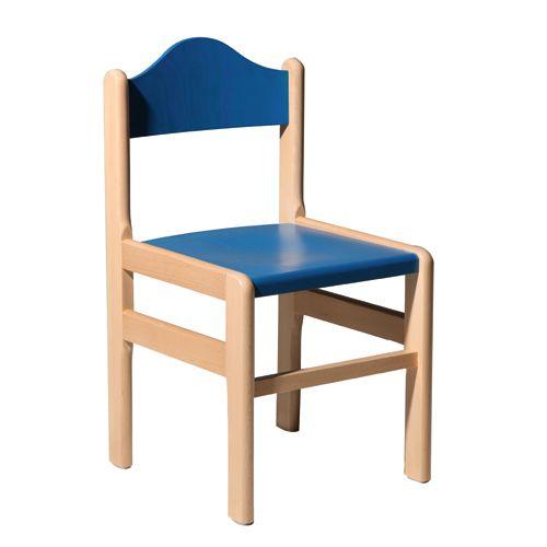 Dětské dřeěvné židle