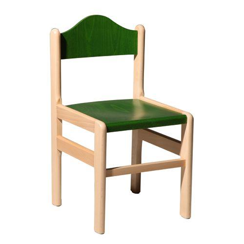 Barevné dětské dřevěné židle